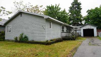 Spokane Single Family Home For Sale: 807 E Liberty Ave