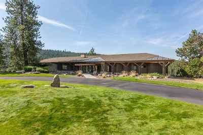 Spokane Single Family Home For Sale: 12605 N Eagle Bluff Ln