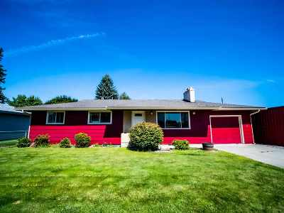 Spokane Valley Single Family Home New: 12821 E Maxwell Ave