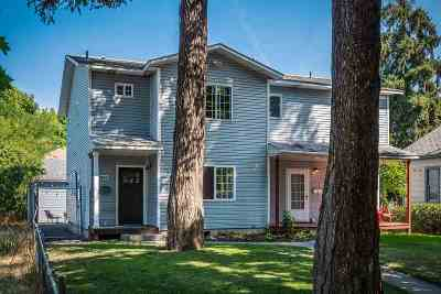 Spokane Single Family Home New: 1844 W College Ave