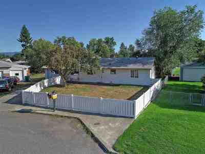 Spokane Valley Single Family Home Chg Price: 8720 E Shannon Ave