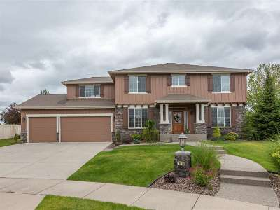 Spokane Valley Single Family Home Ctg-Bump Clause: 17010 E 18th Ct