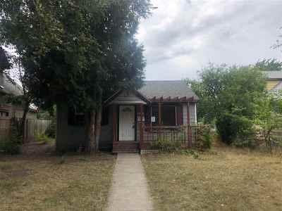 Spokane Single Family Home For Sale: 2507 N Morton St