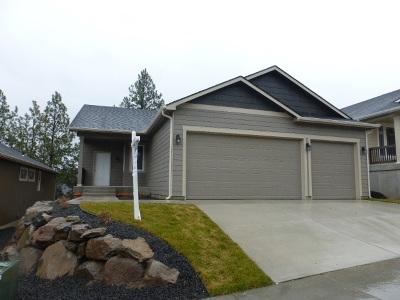 Spokane Valley Single Family Home For Sale: 4421 S Willow Ln