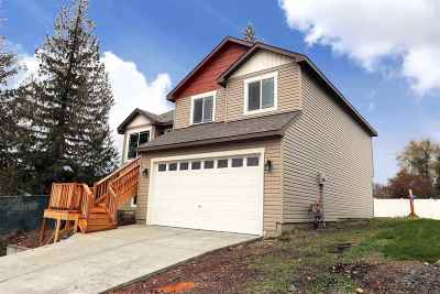 Spokane Valley Single Family Home For Sale: 1316 S Pierce Rd