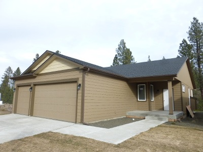 spokane Single Family Home For Sale: 3011 S Custer Ln