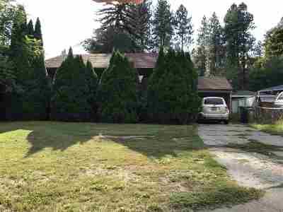 spokane Single Family Home New: 1624 S Southeast Blvd