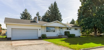 Spokane Valley Single Family Home New: 4620 N St. Charles Rd