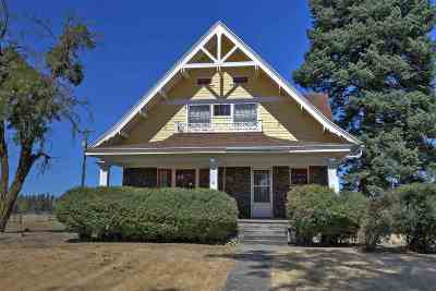 spokane Single Family Home New: 5520 W Thorpe Rd