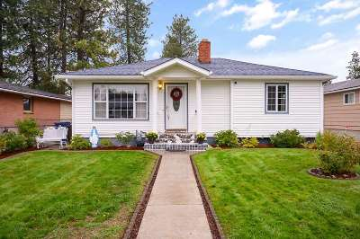 Spokane Single Family Home New: 4018 W Broad Ave