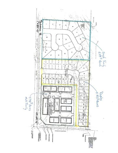 Pasco Residential Lots & Land For Sale: Cka NW Corner Of Rd 100 & Burns Rd
