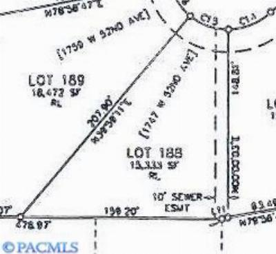 kennewick Residential Lots & Land For Sale: 1747 W 52nd