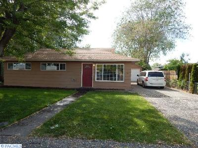 Kennewick WA Single Family Home Sold: $135,000