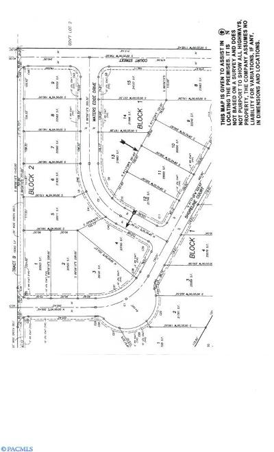 pasco Residential Lots & Land For Sale: Nna Waters Edge Drive
