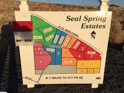 Adams County, Benton County, Franklin County, Garfield County, Grant County, Walla Walla County, Yakima County Residential Lots & Land For Sale: Kka 447 Pr SE