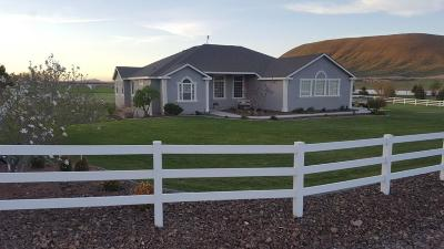 Kennewick Single Family Home For Sale: 24603 E Sunset Meadows Loop