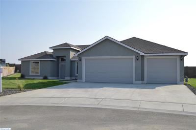 Pasco Single Family Home For Sale: 3502 Cook Lane