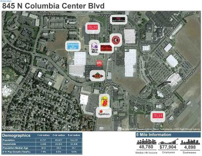 Richland Commercial For Sale: 845 N Columbia Center Blvd 4, 500 Sqft