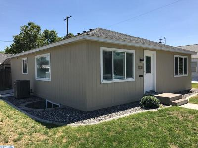 richland Single Family Home For Sale: 1118 Wright Avenue