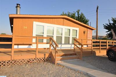 Kennewick Mobile/Manufactured For Sale: 2917 W 19th Ave #24 #24