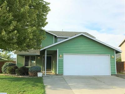 Pasco Single Family Home For Sale: 8111 Spieden Dr.