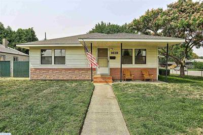 Richland Single Family Home For Sale: 1619 Thayer Dr