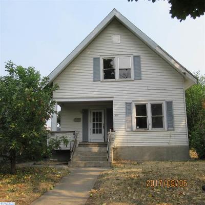 Pasco Single Family Home For Sale: 803 W Margaret Street