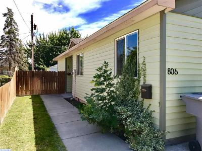 Richland Single Family Home For Sale: 806 Stanton Ave