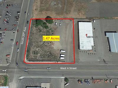 Pasco Commercial For Sale: S 20th & A St Undeveloped Land