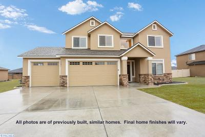 Kennewick Single Family Home For Sale: 87803 Sagebrush Rd