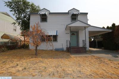 Richland Single Family Home For Sale: 1524 Marshall Avenue
