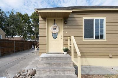 Kennewick Single Family Home For Sale: 207 E 3rd Ave