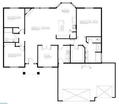 Pasco Single Family Home For Sale: 6615 Sandy Ridge Road