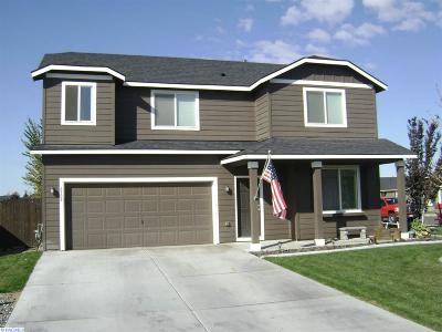 Pasco Single Family Home For Sale: 6308 Cashmere Lane