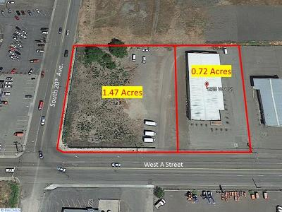 Pasco Commercial For Sale: S 20th & A St Undeveloped Land And Bldg