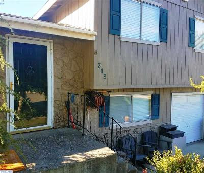 Kennewick Single Family Home For Sale: 318 S Tweedt