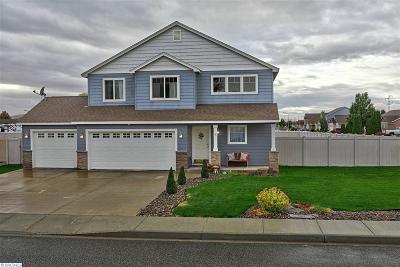 Pasco Single Family Home For Sale: 6224 Chehalis Lane