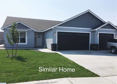 Pasco Single Family Home For Sale: 9817 Silverbright Dr