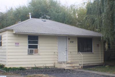 Grandview Single Family Home For Sale: 628 E 3rd