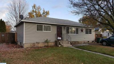 Richland Single Family Home For Sale: 2024 Newcomer Ave