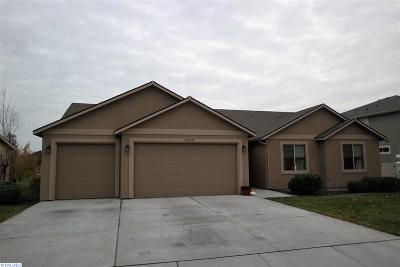 Horn Rapids Single Family Home For Sale: 2893 Crosswater Loop