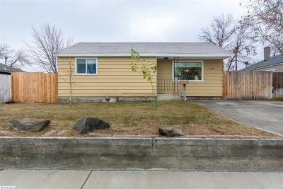 Richland Single Family Home For Sale: 704 Sanford Ave