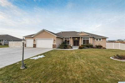 West Richland Single Family Home Active U/C W/ Bump: 5990 Willowbend