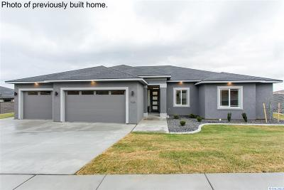 Kennewick Single Family Home For Sale: Lot 8 Wallowa Rd