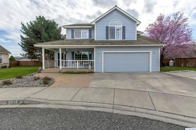 Kennewick Single Family Home For Sale: 2314 S Benton Pl