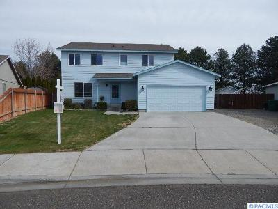 Kennewick WA Single Family Home Sold: $272,900
