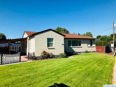 Richland Single Family Home For Sale: 1602 Johnston Ave
