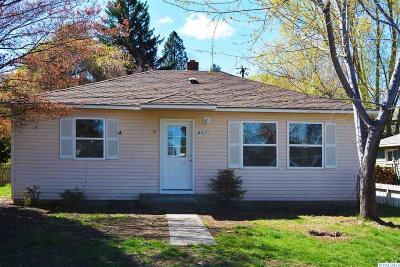 Prosser Single Family Home For Sale: 607 Ellen Ave