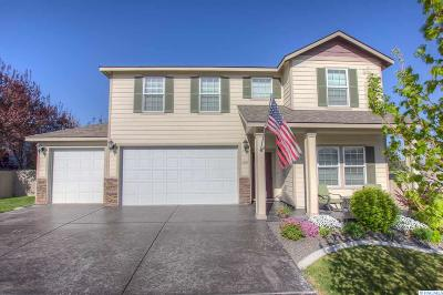 Kennewick Single Family Home For Sale: 1802 S Harrison St.
