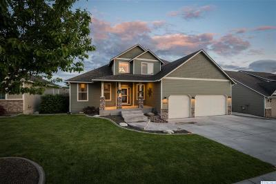 Kennewick Single Family Home For Sale: 8523 W 4th Pl